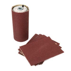 """4"""" X 9"""" Aluminum Pneumatic Sanding Drum & Belt Rubber Sleeve Tube for Polishing"""