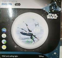 Philips Star Wars 10 Watts LED = 65w Wall & Ceiling Light IP20  900 Lumens Warm