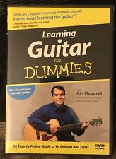 """New ListingGuitar Lesson Dvds. """"Guitar For Dummies�&�Your First Guitar Lesson�. Mint Cond."""