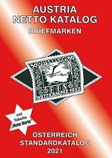 AUSTRIA NETTO KATALOGE - ANK Briefmarken Österreich Standard 2021