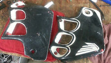 CR500R HONDA 1991 CR500 91 CR 500 (LOT A) RADIATOR SHROUDS BEAT AND PAINTED