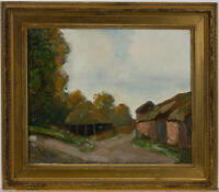 Impressionist Mid 20th Century Oil - Rural Landscape