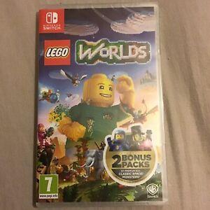Lego Worlds - Nintendo Switch With 2 Bonus Pack