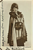 MRS PATRICK CAMPBELL ACTRESS SIGNED REAL PHOTO POSTCARD RPPC