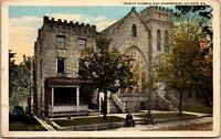 Vtg 1920's Trinity Church and Parsonage, DuBois Pennsylvania PA Postcard