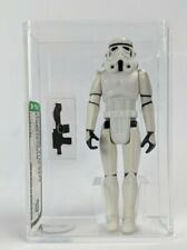 1977 Kenner Star Wars Stormtrooper AFA 80+ NM SW No COO New Case