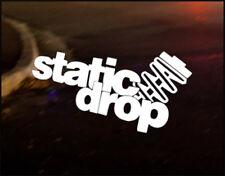 STATIC DROP JDM Decal vinyl sticker, VW Japan Euro Drift Mazda Funny Track Race