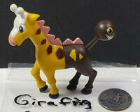 Girafarig Nintendo Pokemon Jakks Pacific Articulated Figure 2007 Rare Vintage