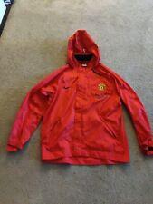 Nike Manchester United HoodedJacket Red Men's Medoum