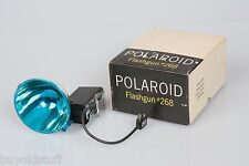 Polaroid Flashgun #268 For 100-300 Series Folding Pack Cameras IOB