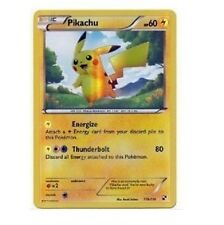 Shining Shiny Pikachu 115/114 Secret Rare Black White Holo Foil Pokemon Card