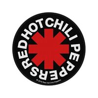 """RED HOT CHILI PEPPERS - """"ASTERISK"""" WOVEN SEW ON PATCH"""