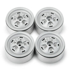 "4Pcs CNC 1.9"" Beadlock Wheel rims For Axial SCX10 90046 TRX-4 D90 RC Crawler"