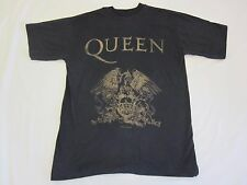 QUEEN  :  VINTAGE OFFICIAL T-SHIRT - 1991 - FREDDIE MERCURY - MEDIUM