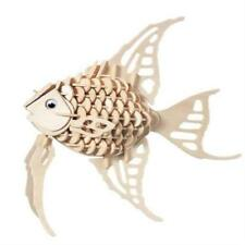ANGEL FISH Woodcraft Construction Kit -Animal 3D Wooden Model Puzzle KIDS/ADULTS