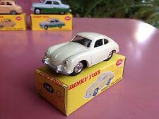 Dinky Toys REF 182 Porsche 356 A   old stock shop  Mint