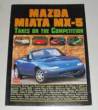 Bildband / Tests / Artikel / Vergleiche Mazda MX-5 / MX 5 Typ NA + NB ab 1989