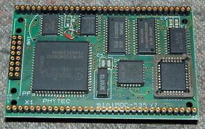 PHYTEC miniMODUL 535 v7 miniMOD-535V7 industrial computer module i8051 WORK