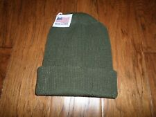 G.I GOV'T ISSUE 100% WOOL COLD WEATHER WATCH CAP WITH GORE-TEX MEMBRANE USA MADE