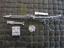 WWII Wehrmacht Maschinengewehr MG42 Trommel Magazin Metal RC Panzer Zubehör 1/16