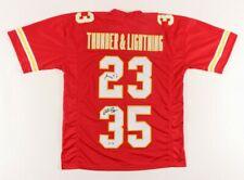 Christian Thunder Okoye & Barry Lightning Word Chiefs Football Signed Jersey Coa