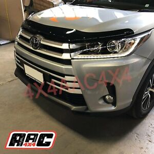 Bonnet Protector for TOYOTA KLUGER 2014-2020 Tinted Guard