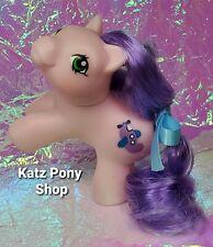 HQG1C Custom G1 MLP Style Playful Baby Pony 💜 FLIPPER 💜 w Accessories! PINK