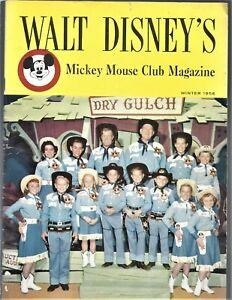 1956 Walt Disney's Mickey Mouse Club Magazine (Annette Funicello, Jimmie Dodd).