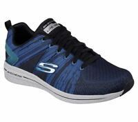 SKECHERS Men's Burst 2.0 - In The Mix II in Black/Blue in Size UK5.5 To UK13