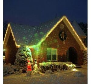 CHRISTMAS MULTICOLOUR LASER LIGHT DISPLAY COVERAGE 40ft X 40ft BEST & CHEAP