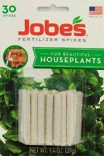 Jobes House Plants Fertilizer Spikes Plant Food 30 Ct