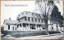 1910 Postcard: Masonic Home for Girls - Elizabethtown, Pennsylvania Pa