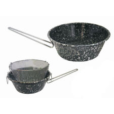 Tegame Friggitrice con cestello scolafrtitto cm.26 ferro smaltato