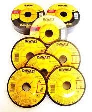 """20 DEWALT 4-1/2"""" GRINDING WHEELS 4.5 METAL ANGLE GRINDER 1/4"""" THICK DW4541"""