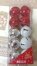 Christmas Tree Decorations 10 BELLS in a pack ****NEW*****