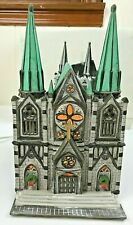 Dept 56 Christmas in the City Series The Cathedral #5962-5 Heritage Village 1987