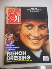 Royalty Monthly Magazine Vol 8 No 4 How Diana won the Cross-Channel Fashion War