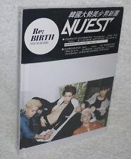 NU'EST Vol. 1 Re:BIRTH Taiwan Ltd CD+DVD (digipak)