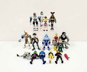 "2004 Bandai DC Teen Titans GO Cartoon Network 3.5"" Figure Lot of 10"