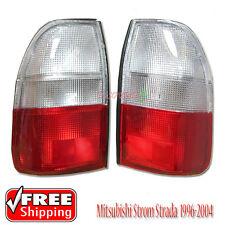 Mitsubishi Triton Storm MK 96-04-Pair New Rear White/Red Tail Lights Lamp L200