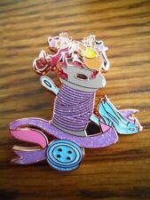 Disney Princess Loungefly 70th Anniversary Cinderella Gus Jaq Sewing Spool Pin