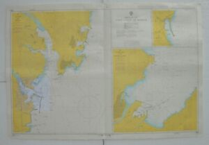 Admiralty 898 Ports on the East Coast of Korea Nautical Marine Geographic Map