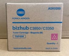 TNP48M - Konica Minolta Bizhup C3850 / C3350 Magenta Toner Cartridge