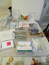 Variety of 285 Greeting Cards-Christmas, Birthday & Other W/Envelopes