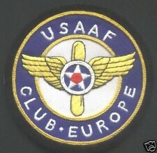 Embroidered USAAF Club - Europe Blazer Badge