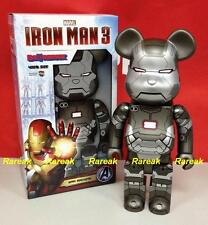 Medicom Be@rbrick 2013 Marvel Avengers Iron Man 3 400% War Machine Bearbrick 1p