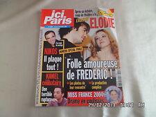 ICI PARIS N°3050 16 DEC 2003 STAR ACADEMY ELODIE LA FINALE NIKOS KAMEL   D81