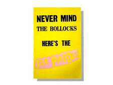 SEX PISTOLS - NEVER MIND THE BOLLOCKS *HUGE* JUMBO WALL POSTER NEW OFFICIAL