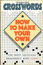 CROSSWORDS:  HOW TO MAKE YOUR OWN The Diamond Group ~ SC