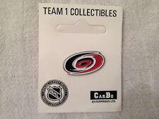 Carolina Hurricanes Hockey NHL Logo Pin